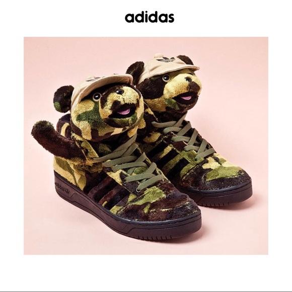 Jeremy Scott x Adidas Other - Jeremy Scott x Adidas Camo Teddy Bears a4b486415fe5
